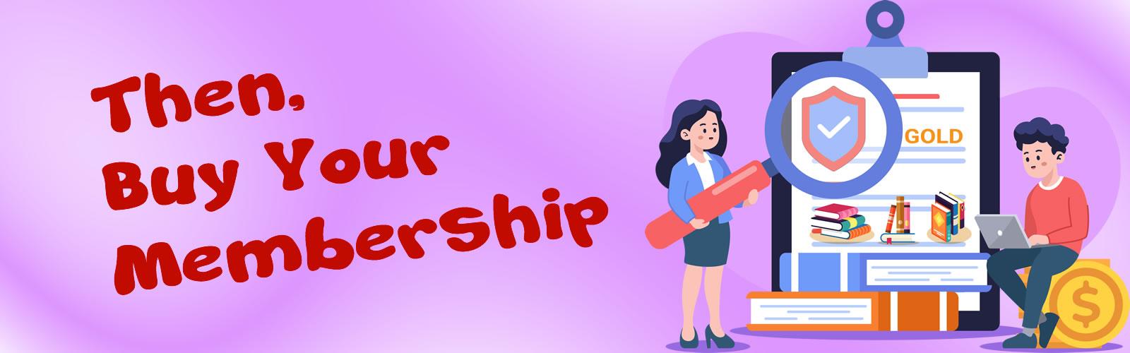 Buy Your membership