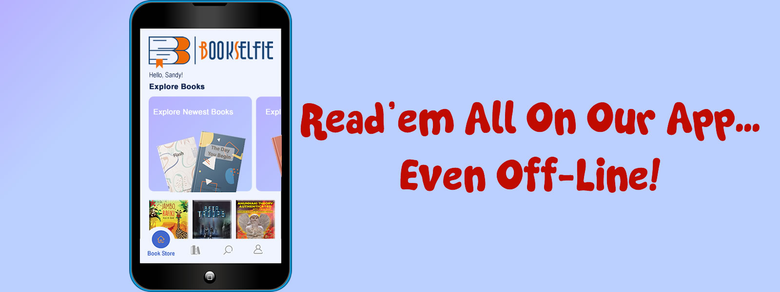 Read eBooks On Our App